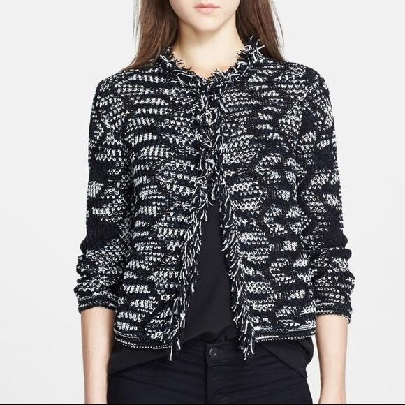 NWT Missoni Fringe Crochet Jacket 40